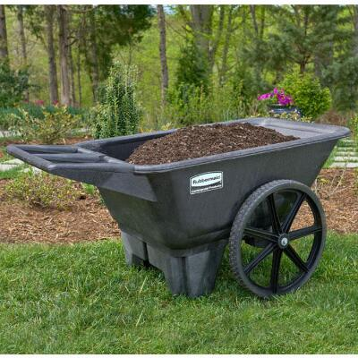 Rubbermaid Big Wheel Farm Cart 7.5 Cubic Feet