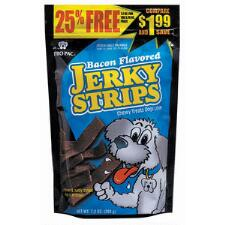 PRO PAC Bacon Flavored Jerky Strips