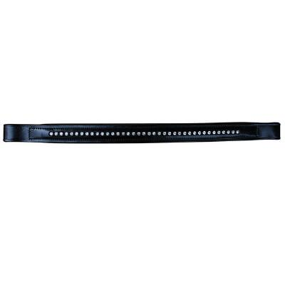 Red Barn Padded Browband with Cystals