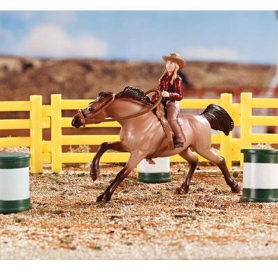 Breyer Stablemates Barrel Racing