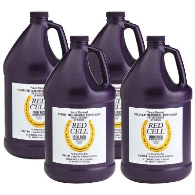 Horse Health Red Cell Gallon Case - Free Freight Deal