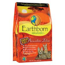 Earthborn Primitive Feline Cat Food 5 lb - TB