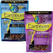 Earthbites Natural Moist Dog Treats with Vitamins 7.5 oz