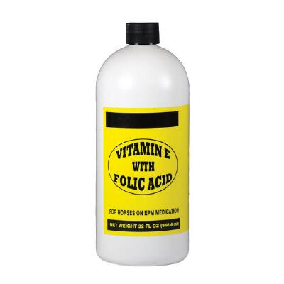 Vitamin E & Folic Acid Liquid 32 oz