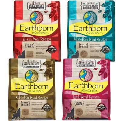 Earthborn Holistic Grain Free Dog Biscuit Treat 14 oz