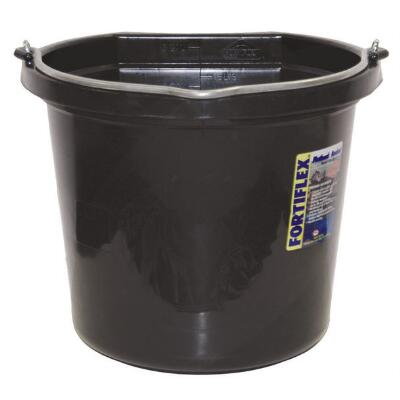 Fortiflex Water Bucket 20 Qt Black