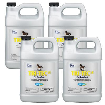 Farnam Tri-Tec 14 Fly Repellent Case of 4 Gallons - Free Shipping
