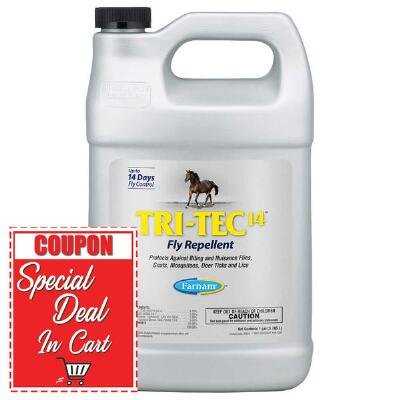 Farnam Tri-Tec 14 Fly Repellent Gallon