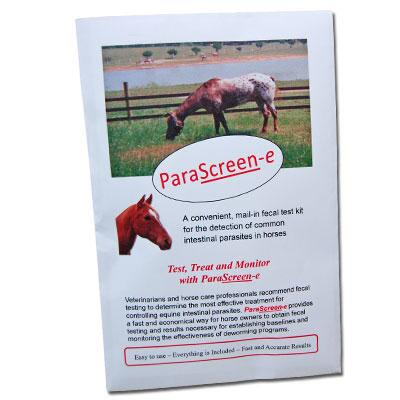 Equine Fecal Parasite Test Kit