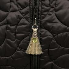 Cowboy Collectibles Horse Hair Zipper Pull Tassel - TB