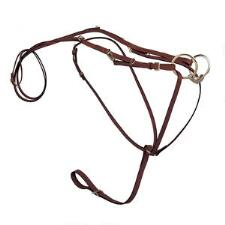 Tory Leather German Martingale With Reins - TB