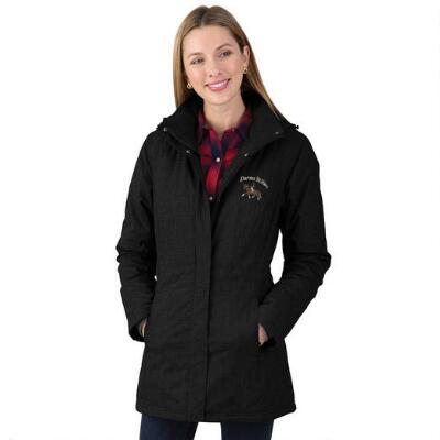 Custom Ladies Parka with Embroidery