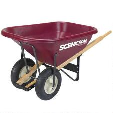 Wheelbarrow 2 Wheel 8 Cu Ft - TB