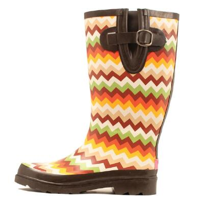 Blazin Roxx Chevron Ladies Rubber Boot