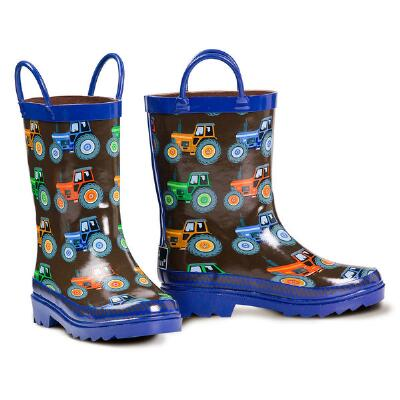 DBL Barrel Kye Tractor Boys Rainboot