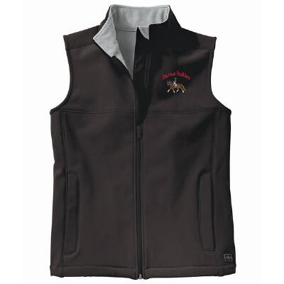 Classic Soft Shell Ladies Vest Left Chest Embroidered