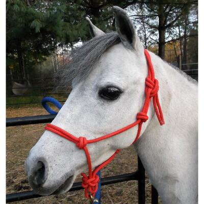 Country Pride Miniature Horse Rope Halter