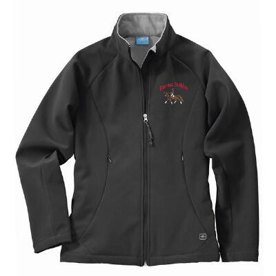 Ultima Soft Shell Ladies Jacket Full Back and Left Chest Embroidered
