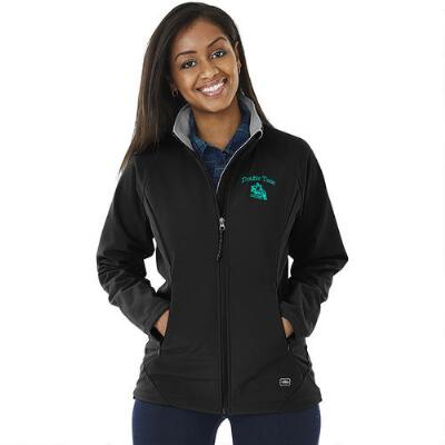 Ultima Soft Shell Ladies Jacket With Left Chest Embroidered