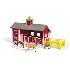 Breyer Stablemates Red Stable Set - TB