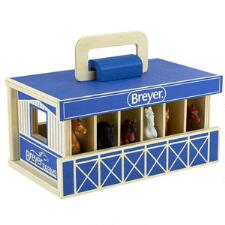 Breyer Farms Wooden Carry Along Stable - TB