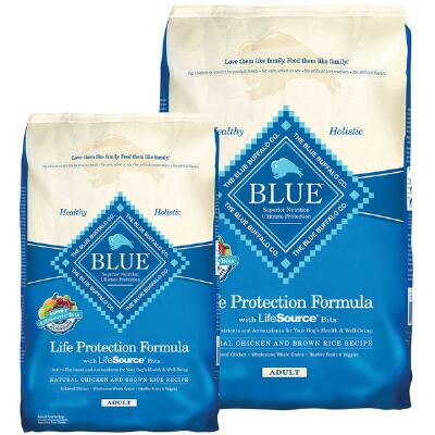 BLUE Life Protection Adult Chicken and Brown Rice 15 lb