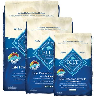BLUE Life Protection Senior Chicken and Brown Rice 15 lb