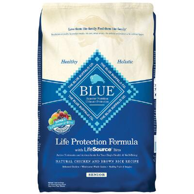 BLUE Life Protection Senior Chicken and Brown Rice 30 lb
