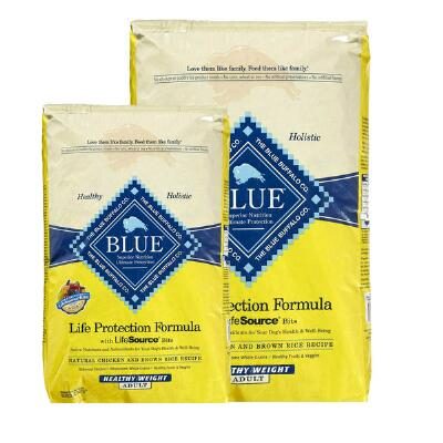 BLUE Life Protection Healthy Weight Chicken Brown Rice 6 lb