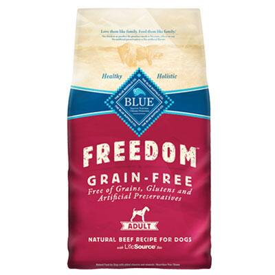 BLUE Freedom® Grain Free Beef Recipe 24 lb