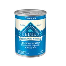 BLUE Homestyle Recipe Chicken Dinner 12.5oz Can