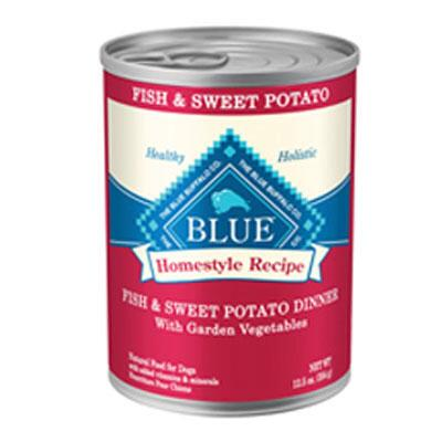 BLUE Homestyle Recipe Fish Sweet Potato Dinner 12.5 oz Can