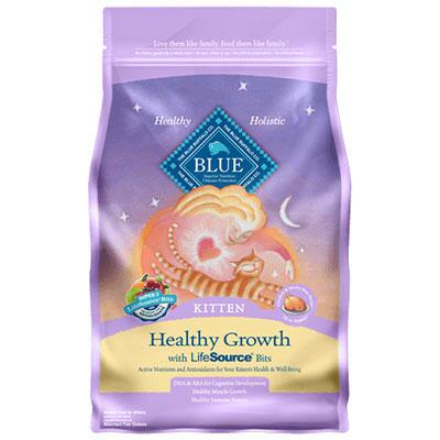 BLUE Healthy Growth Kitten Chicken and Brown Rice 7 lb