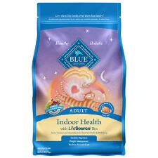 BLUE Indoor Health Adult Cat Chicken and Brown Rice 7 lb
