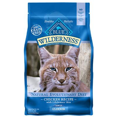 BLUE Wilderness Indoor Chicken Recipe for Adult Cats 5 lb