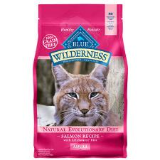 BLUE Wilderness Salmon Recipe for Adult Cats 5 lb