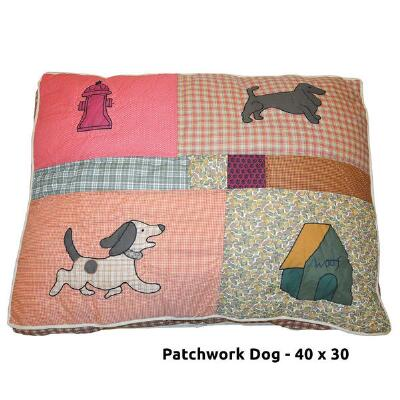 Dog Bed Quilted Theme