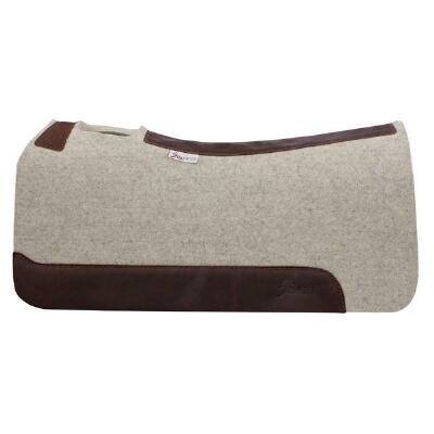 5 Star All Arounder Western Saddle Pad - Natural 30 x 30 x .875