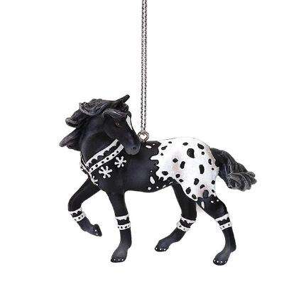 The Trail of Painted Ponies Winter Beauty Ornament