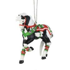 Painted Ponies Jingle All the Way Ornament - TB