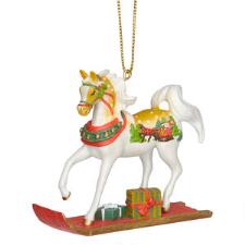 Painted Ponies Sleigh Ride Figurine Ornament - TB