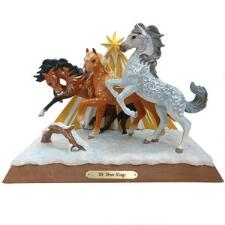 Painted Ponies We Three Kings Centerpiece Statue - TB