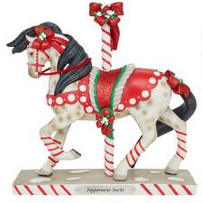 Painted Ponies Peppermint Sticks Statue - TB