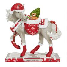 Painted Ponies Santas Little Helper Statue - TB