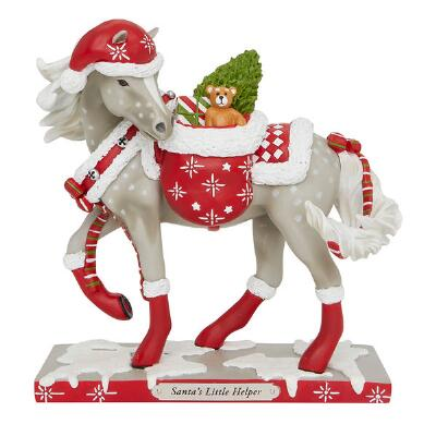 Painted Ponies Santas Little Helper Statue