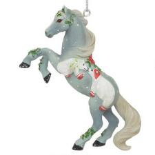 Painted Ponies Santas Mistletoe Kisses Ornament - TB