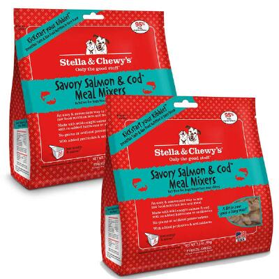 Stella & Chewy's Meal Mixer Savory Salmon & Cod Freeze Dried