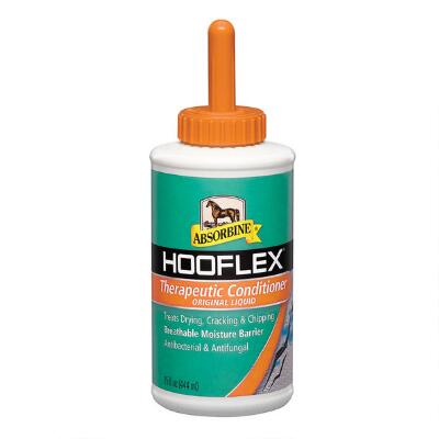 Absorbine Hooflex Liquid Hoof Conditioner With Applicator 15 oz