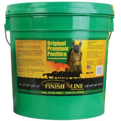 Finish Line Poultice Original Premium Clay 45 lb