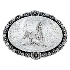 Southwest Concho Oval Belt Buckle
